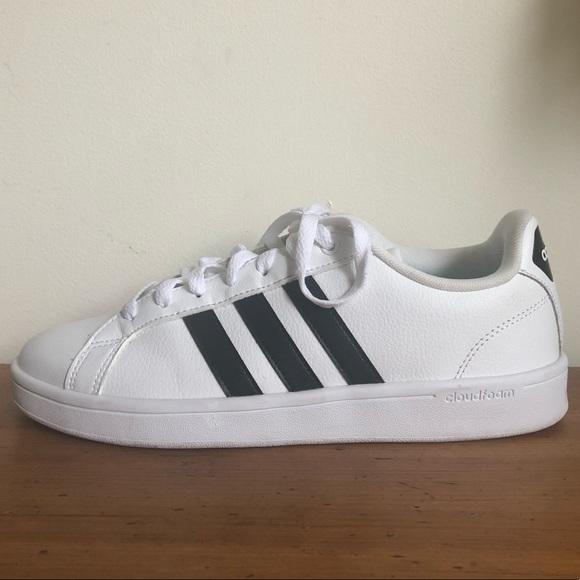 sports shoes 26a66 13671 Adidas Stan Smith Style Sneakers w/ Cloudfoam Tech